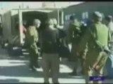 Video 3 israeliens sur 1 Palestinien - palestine, israel