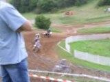 Moto cross is sur tille manche 125cc open 2007
