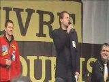 Manifestation ni pauvres ni soumis : UNA, FNAPAEF et AD-PA