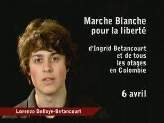 Lorenzo appelle à la marche blanche 6 avril