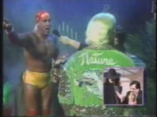 Undertaker on TV-Show 1991