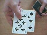 tour de cartes magie (demonstration) partie 1
