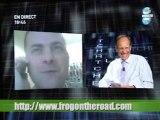 interview par Marc Menant sur Direct8