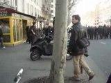 Blocus MLK - Manif @Paris CRS . 03.04.08