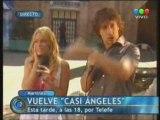 Emilia Attias & Nico Vazquez En Telefe Noticias - Parte 2