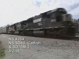 NS #204 with an SD60