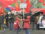 Protests against Ukraine joining NATO