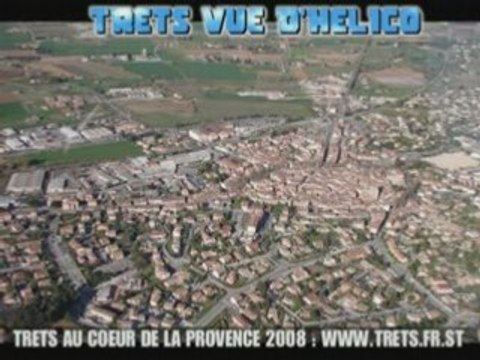Trets vue d'helico 2008