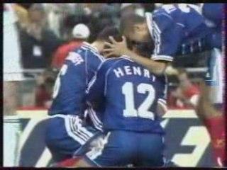France 2 Croatie 1 - 1998