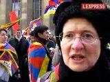 """""""Attirer l'attention sur les Tibétains"""""""