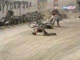 VIDEO DROLE - une chute de moto à grande vitesse 4