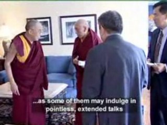 Telling the Dalai Lama what to sayLg_Prog001
