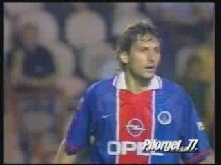 PSG 96/97 PSG-CAEN LEONARDO 1er MATCH