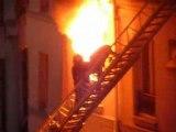 Incendie du 3 avril 2008  Paris rue saint jacques