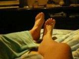Dialogue de pieds manon et moi