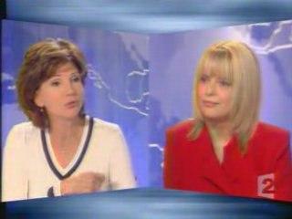 France Gall - JT France 2 03/10/2004