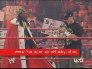 Cena's English Accent
