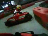 Racing at MB2 raceway with electric karting