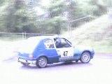 rallye du beaufortain 2007 205 gti