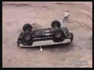 Ford Bronco Falls Back On Hood