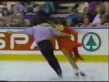 Isabelle and Paul Duchesnay 1990 Worlds free dance