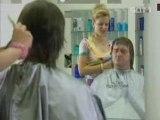 Humour chez la coiffeuse