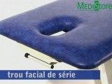 Table massage Praxeo 2 plans chez Medistore