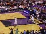 NBA basketball - Vince Carter DUNK moulin à vent