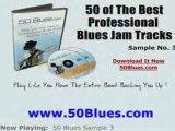 Blues/Jazz Guitar Backing Jam Tracks SAMPLE 3 Lesson
