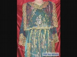 Les robes traditionelle CHAOUIS,