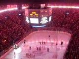 Boston-Montréal Hymne Canadien