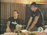 Blink 182 - fan visits blink in studio