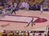 Gilbert Arenas 30 Foot Three-pointer  vs. Cavs (4.19.08)