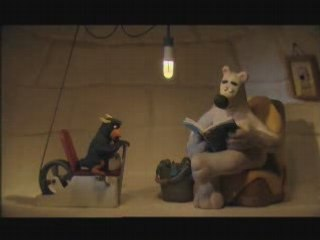 Penguin Lightbulbs - The animals save the Planet (Aardman)