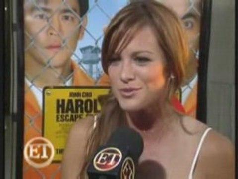 Interview Danneel Harris à la première de