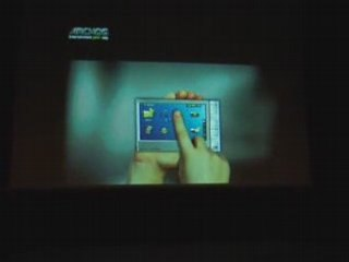 Pub TV Archos 605