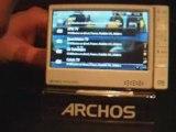 Démo Archos 605 Webradio et WebTV - partie 2