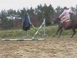 Autofilmage avc les filles en saut a apinac