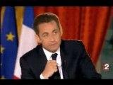Lapsus de Sarkozy