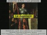 Le proces de Jeanne d Arc - Le Jugement 2/2