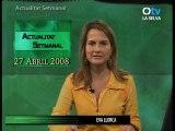 ACTUALITAT SETMANAL 27 ABRIL 2008