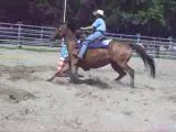 Sandra et kaa barrel racing ( obersoultzbach)