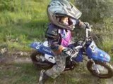 flo bourbier troisieme jour de moto