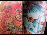 Tattoos by Chris Garver,Jiro Yaguchi and others