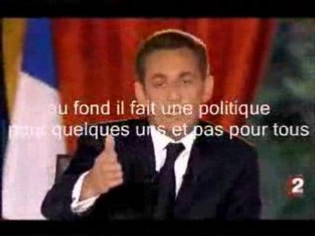 Quand Sarkozy reconnait qu'il favorise les riches !