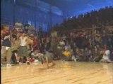 Danseurs break dance