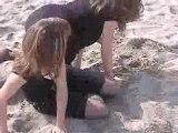Cécile & Mélie à la plage