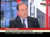 François Hollande invité sur iTélé