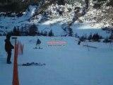 Snow val-cenis alpes