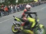 Stunt moto extreme
